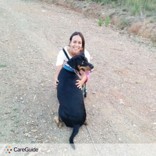 Pet Care Provider Andrea Cuadros's Profile Picture