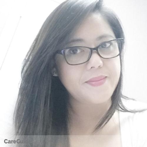 Canadian Nanny Provider Gina Zulueta's Profile Picture
