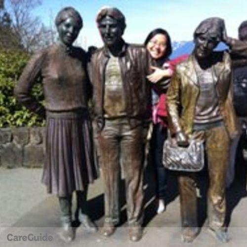 Canadian Nanny Provider Jessica Wu's Profile Picture