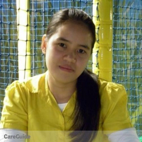 Canadian Nanny Provider Helen Grace Manalo's Profile Picture
