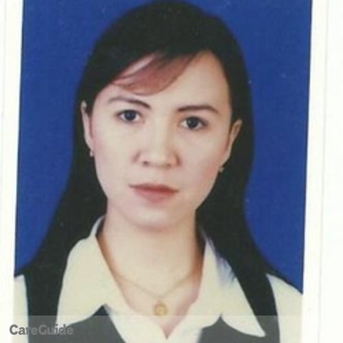 Canadian Nanny Provider Sheila Tambalo's Profile Picture