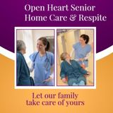 Hi My name is Cassandra Holmes, I'm the Client Service Manager for Open Heart Senior Home Care.