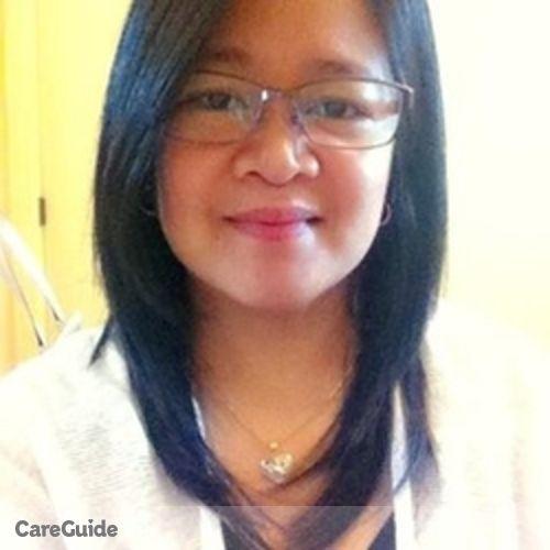 Canadian Nanny Provider Teresita G's Profile Picture