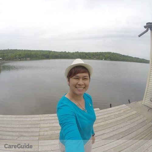 Canadian Nanny Provider Arby Jane Pilapil's Profile Picture