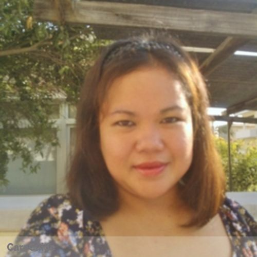 Canadian Nanny Provider Theresita Manglicmot's Profile Picture