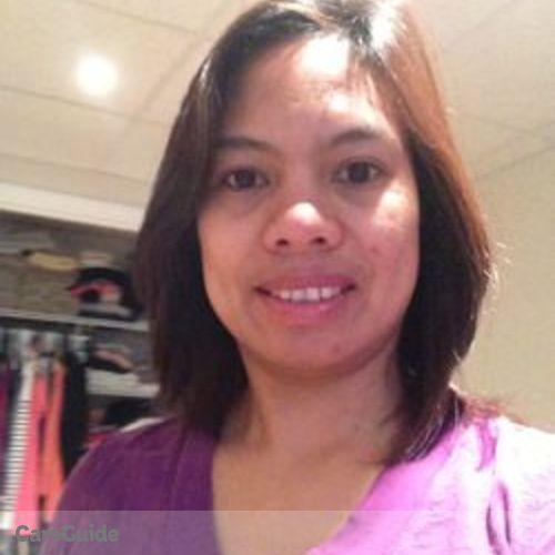 Canadian Nanny Provider Josephine Senerado's Profile Picture