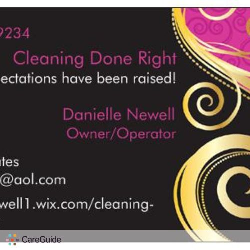 Housekeeper Provider Danielle Newell's Profile Picture