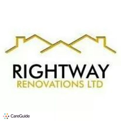 Handyman Provider Rightway Renovations Calgary Ltd's Profile Picture