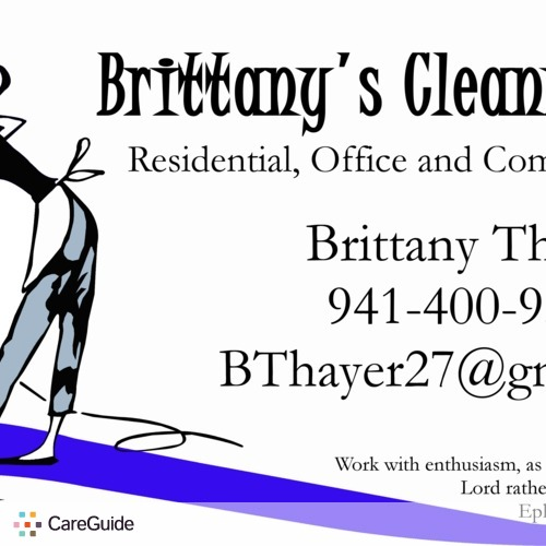 Housekeeper Provider Brittany Thayer's Profile Picture