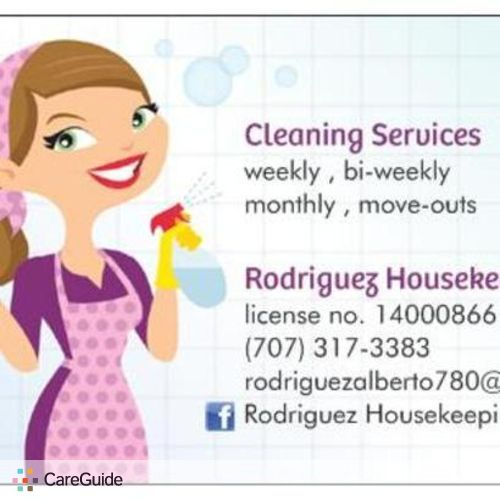 Housekeeper Provider Darla Rodriguez's Profile Picture