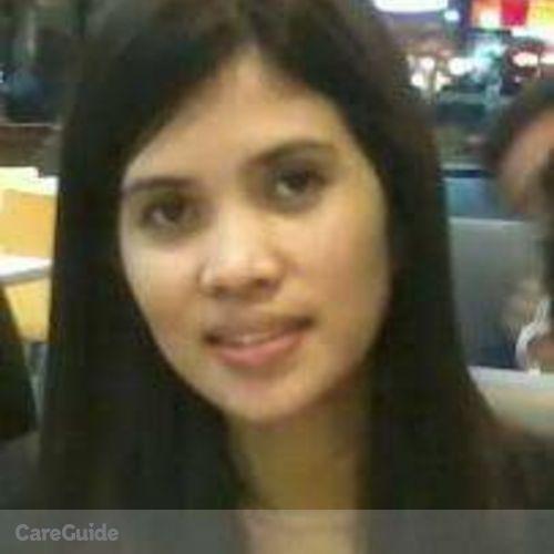 Canadian Nanny Provider Lailanie Navarra's Profile Picture
