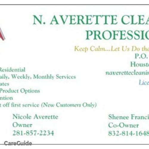 Housekeeper Provider Nicole Averette's Profile Picture