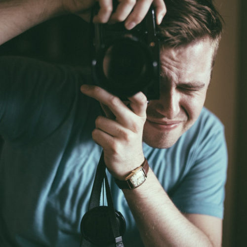 I am a conceptual photographer.
