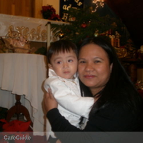 Canadian Nanny Provider Novalyn Matias's Profile Picture