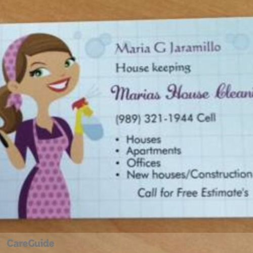 Housekeeper Provider Maria Jaramillo's Profile Picture