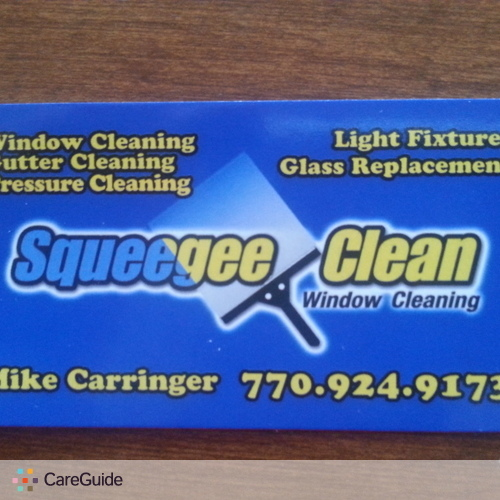 Housekeeper Provider Squeegee Clean Window Cleaning 7709249173's Profile Picture