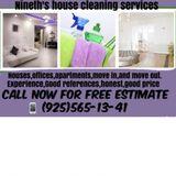 NinethS cleaning services in Concord Walnut Creek,Martinez, la Fayette,orinda