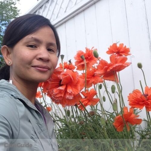 Canadian Nanny Provider Margilyn Cada's Profile Picture