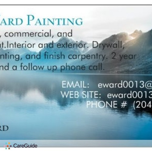 Painter Provider Eric Ward's Profile Picture