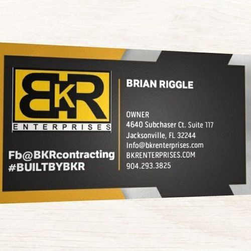 BKR Enterprises is a skilled trade network. We have the highest of quality and affordability in the clay county area.