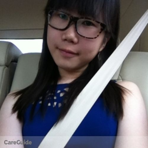 Canadian Nanny Provider Naomi Chow's Profile Picture