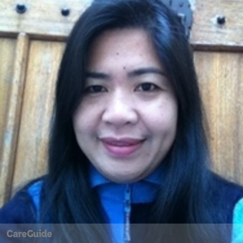Canadian Nanny Provider Annalyn Polangco's Profile Picture