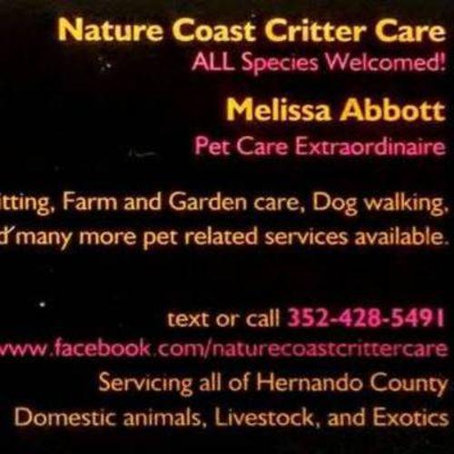 Pet Care Provider Melissa Abbott Gallery Image 1