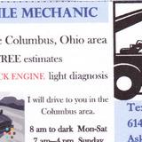 Certified Mobile Mechanic
