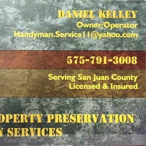 Handyman Provider Daniel Kelley's Profile Picture