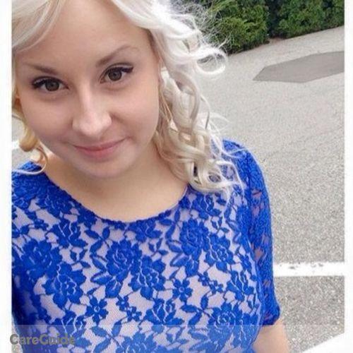 Canadian Nanny Provider Paige G's Profile Picture
