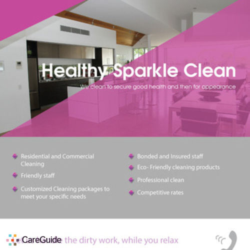 Housekeeper Provider Diamond Sparkle Janitorial's Profile Picture
