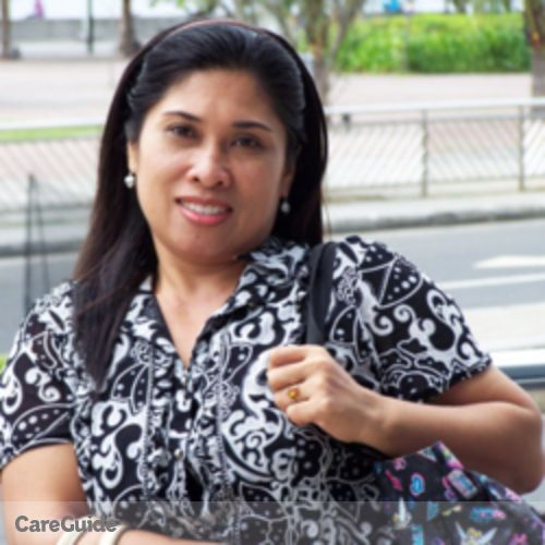 Canadian Nanny Provider Noemi Pagaduan's Profile Picture