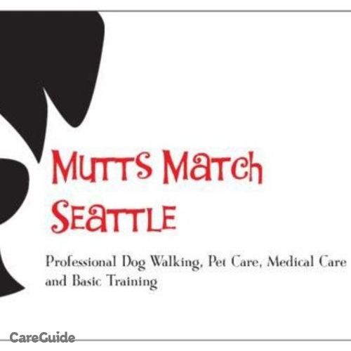 Pet Care Provider Mutts Match Seattle's Profile Picture