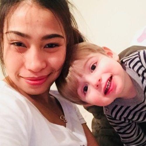A flexible Filipina nanny, who loves children!