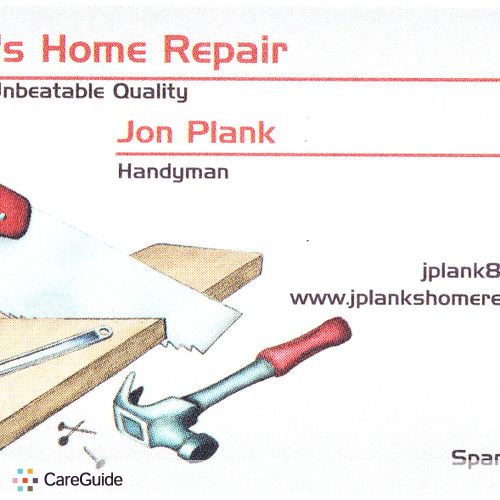 Handyman Provider Jon Plank's Profile Picture