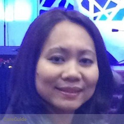 Canadian Nanny Provider Cherryl Rose Estrada's Profile Picture