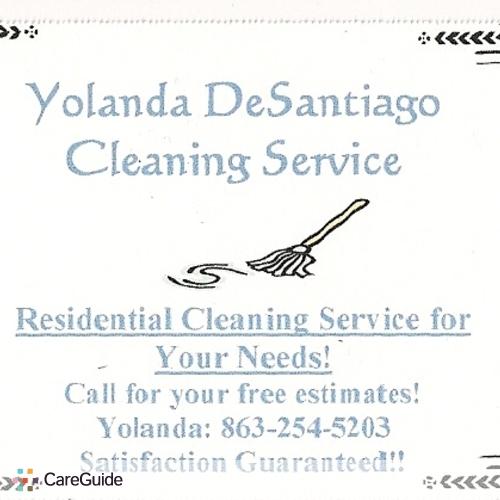 Housekeeper Provider Yolanda DeSantiago's Profile Picture