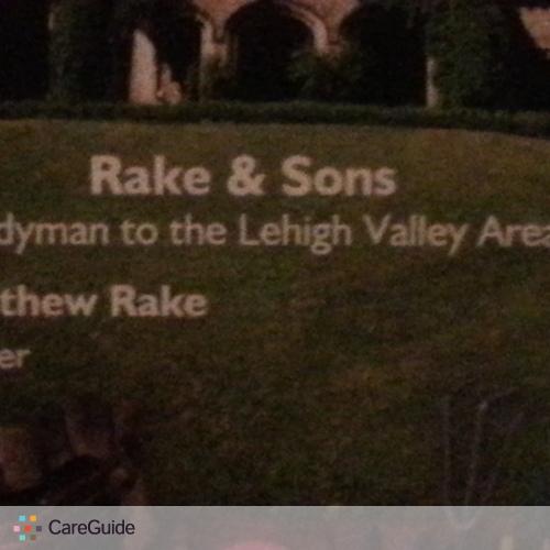 Handyman Provider Matthew Rake's Profile Picture