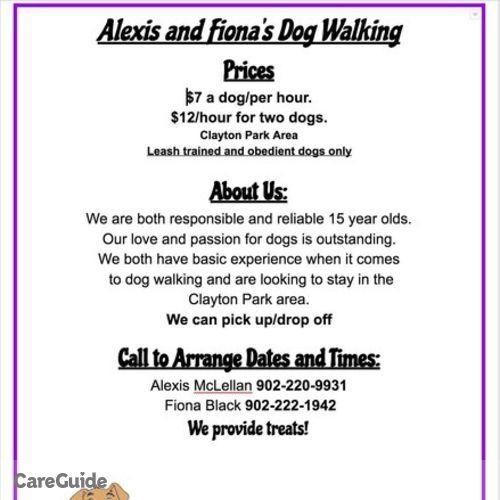 Pet Care Provider Alexis M's Profile Picture
