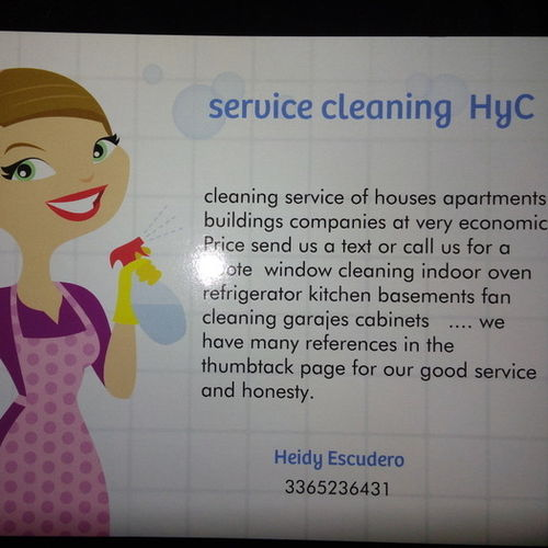 Housekeeper Provider Heidy E Gallery Image 1