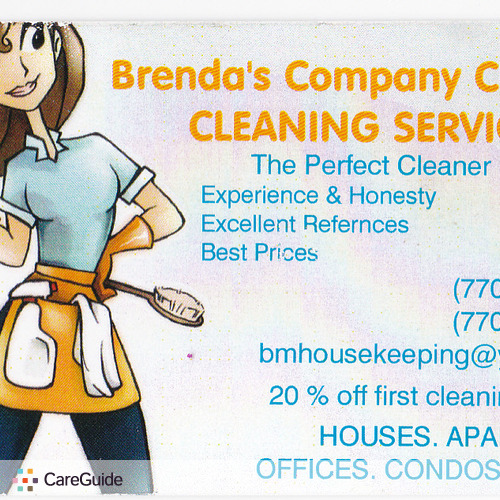 Housekeeper Provider Brenda Barajas's Profile Picture
