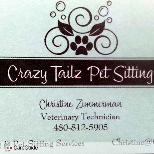 Pet Care Provider Christine Zimmerman's Profile Picture