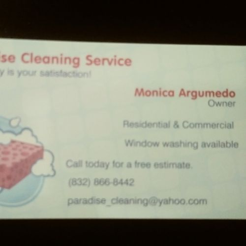 Housekeeper Provider Monica Argumedo's Profile Picture