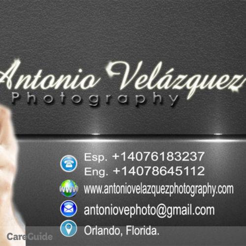Photographer Job Antonio Vu0027s Profile Picture. Jobs U003e; USA U003e; Florida U003e; Winter  Garden