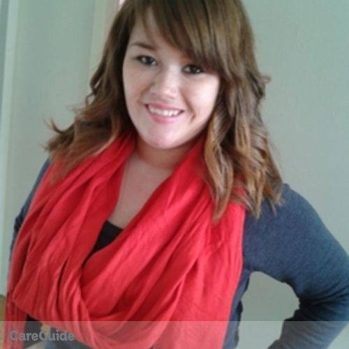 Canadian Nanny Provider Jenna Peck's Profile Picture