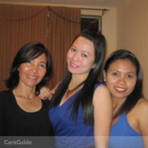 Canadian Nanny Provider Alona Manlapas's Profile Picture