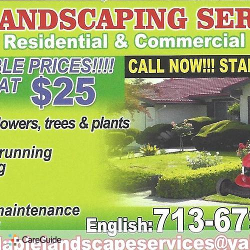 Landscaper Provider Joel -Landscaper's Profile Picture