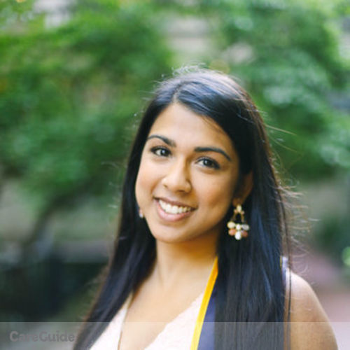 Canadian Nanny Provider Shayari C's Profile Picture