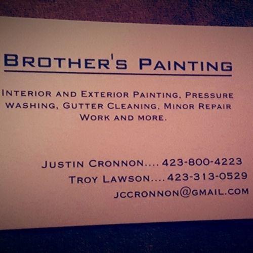 Painter Provider Justin Cronnon's Profile Picture