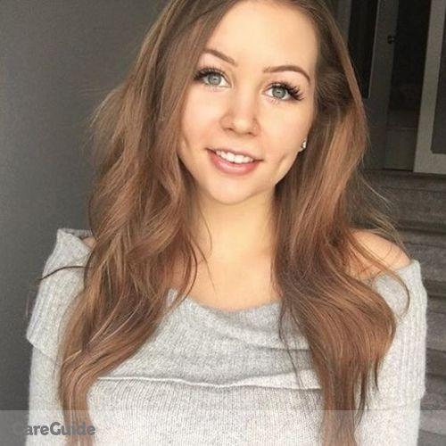Canadian Nanny Provider Brooklyn Robinson's Profile Picture